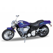 Welly 12156P Велли Модель мотоцикла 1:18 MOTORCYCLE / YAMAHA 2002 ROAD STAR WARRIOR фото
