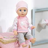 Zapf Creation Baby Annabell 700136 Бэби Аннабель Кукла Учимся ходить, 43 см