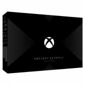 Xbox One X Project Scorpio Edition фото