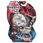 Фигурка-трансформер Bakugan Dbl Head Drgn White 20108803, фото