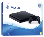 Sony PlayStation 4 Slim (500 ГБ) фото
