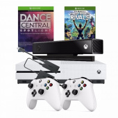 Xbox One S 1TB + Pad + Kinect 2.0 + Kinect Sports Rivals + Dance фото