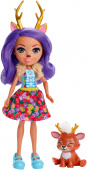 Mattel Enchantimals FXM75 Кукла Данесса Оления, 15 см фото