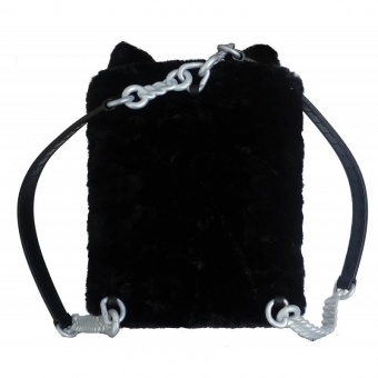 Рюкзак-спальня Na Na Na Backpack Bedroom Black Kitty 569749